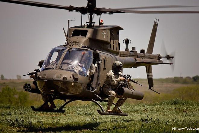 """Ảnh: Trực thăng """"Chiến binh"""" trinh sát OH-58D Kiowa của quân đội Mỹ - Ảnh 4."""