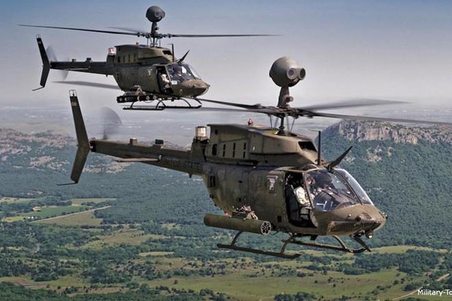 """Ảnh: Trực thăng """"Chiến binh"""" trinh sát OH-58D Kiowa của quân đội Mỹ - Ảnh 5."""