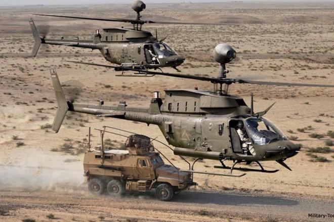 """Ảnh: Trực thăng """"Chiến binh"""" trinh sát OH-58D Kiowa của quân đội Mỹ - Ảnh 6."""
