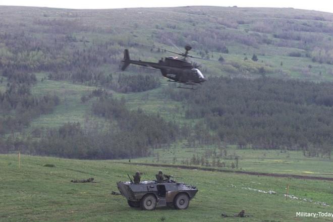 """Ảnh: Trực thăng """"Chiến binh"""" trinh sát OH-58D Kiowa của quân đội Mỹ - Ảnh 8."""