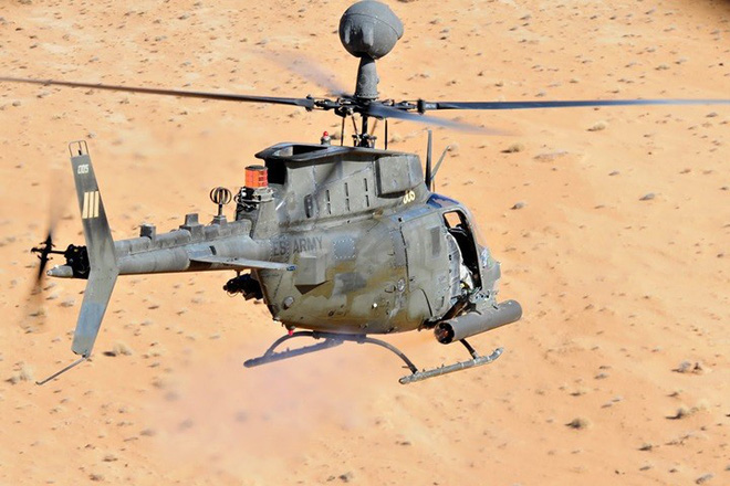 """Ảnh: Trực thăng """"Chiến binh"""" trinh sát OH-58D Kiowa của quân đội Mỹ - Ảnh 10."""