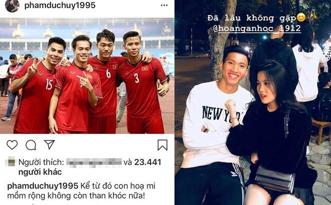 Trước giờ sang Malaysia, các cầu thủ Việt Nam đăng gì lên mạng xã hội?
