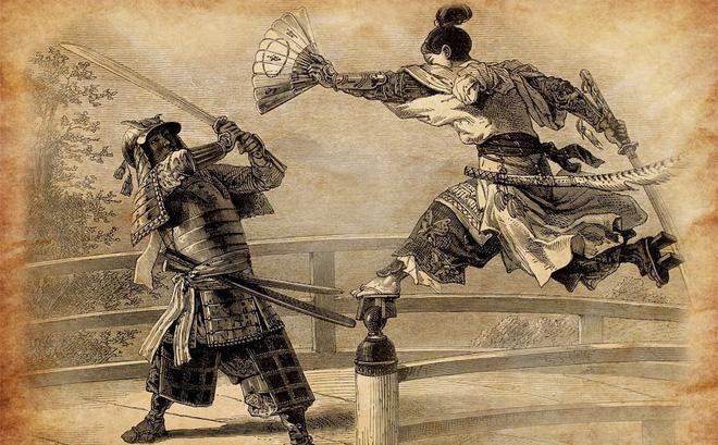 """Cất giấu trong người, """"vũ khí mềm mại"""" của nữ Ninja có thể khiến địch thủ kinh hồn bạt vía"""