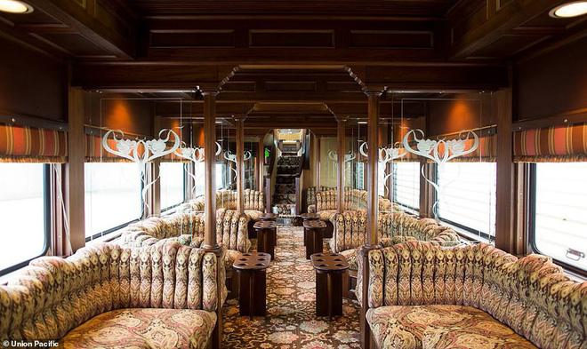 Choáng ngợp trước nội thất quý phái bậc nhất bên trong chuyến tàu chở TT Bush cha - Ảnh 4.