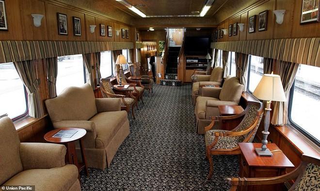 Choáng ngợp trước nội thất quý phái bậc nhất bên trong chuyến tàu chở TT Bush cha - Ảnh 7.
