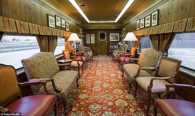 Choáng ngợp trước nội thất quý phái bậc nhất bên trong chuyến tàu chở TT Bush cha - Ảnh 11.