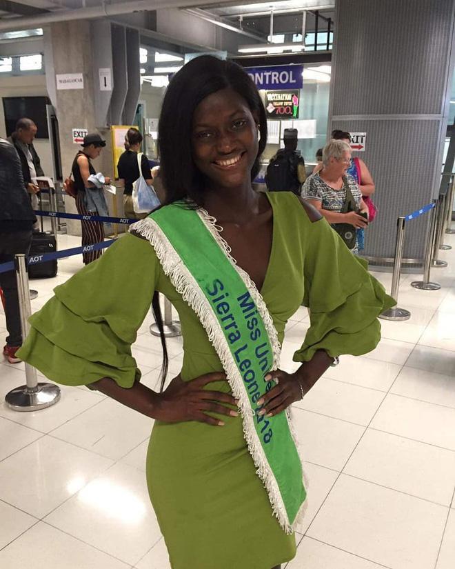 Thí sinh Miss Universe 2018 bị đồn mất tích đã có mặt tại Thái Lan để dự thi - Ảnh 2.