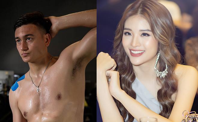 Hoa hậu Phan Hoàng Thu tỏ tình với thủ môn Lâm Tây: Tôi không ngại những lời đám tiếu