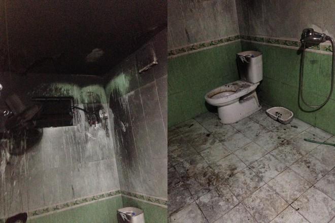 Nhà tắm cháy đen thui như hũ nút sau tiếng động mạnh bất ngờ - Ảnh 2.