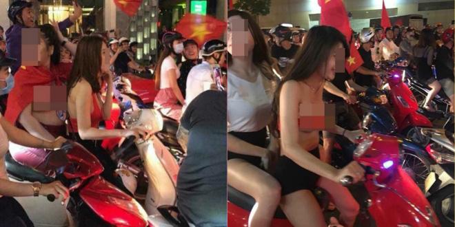 Khỏa thân ăn mừng ĐT U23, những cô gái khiến tất cả thốt lên vui thôi đừng vui quá - Ảnh 3.
