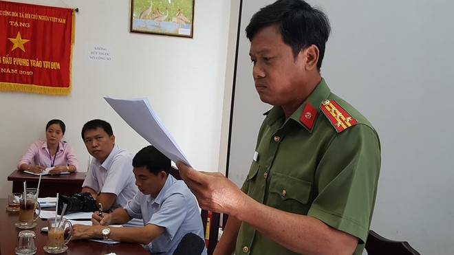 Kiên Giang họp báo thông tin vụ 'bêu danh' mua bán dâm - Ảnh 2.