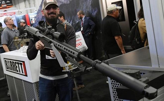 Những khẩu súng đáng sợ nhất tại triển lãm vũ khí SHOT