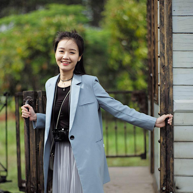 Chân dung biên tập viên đẹp như sao Hàn của VTV - ảnh 4