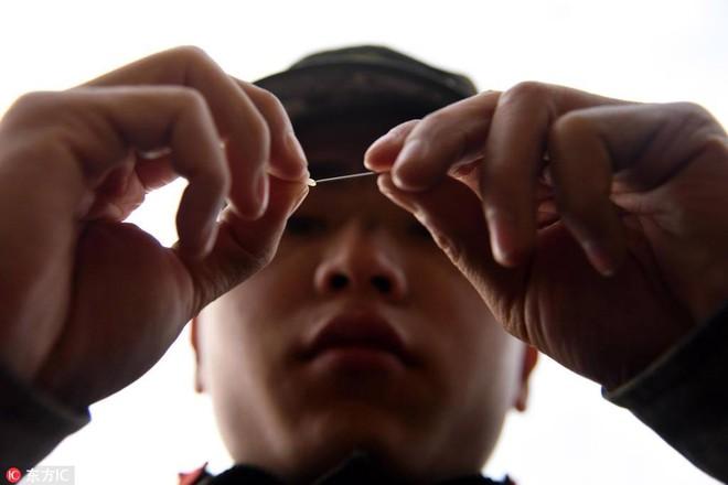Bài tập kỳ lạ của lính bắn tỉa Trung Quốc - Ảnh 5.