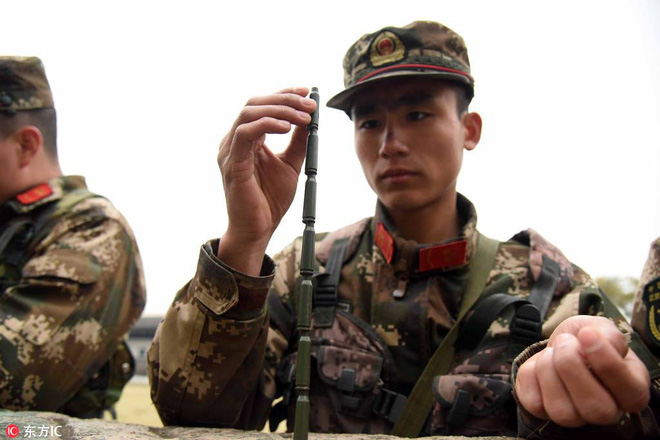 Bài tập kỳ lạ của lính bắn tỉa Trung Quốc - Ảnh 3.