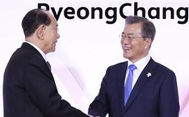 [Video] Tổng thống Hàn Quốc gặp quan chức cấp cao Triều Tiên