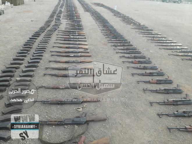 Quân đội Syria thu giữ lượng vũ khí sát thủ khổng lồ của IS: Nga, Mỹ đủ cả - Ảnh 5.