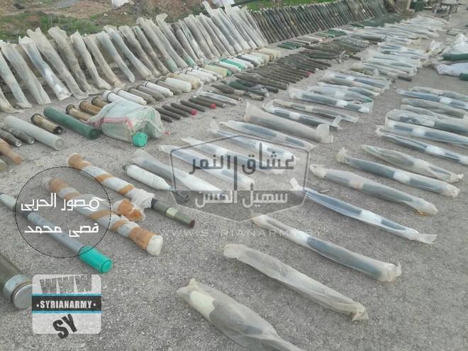 Quân đội Syria thu giữ lượng vũ khí sát thủ khổng lồ của IS: Nga, Mỹ đủ cả - Ảnh 8.