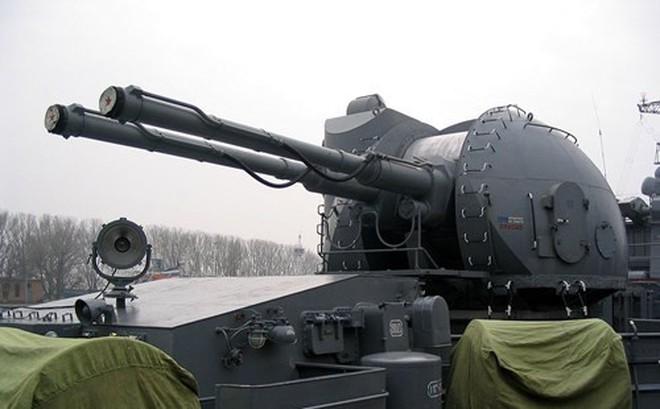 """Pháo hạm Nga AK-130 - """"kẻ hủy diệt"""" tàu khu trục và UAV"""