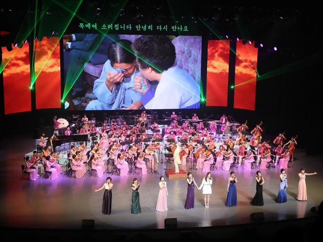 TT Moon trò chuyện vui vẻ với em gái ông Kim, đại diện Triều Tiên rơi lệ khi xem ca nhạc - Ảnh 14.