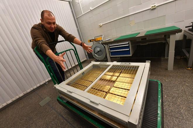 Tiết lộ bí mật kho vàng dự trữ của Nga - Ảnh 13.