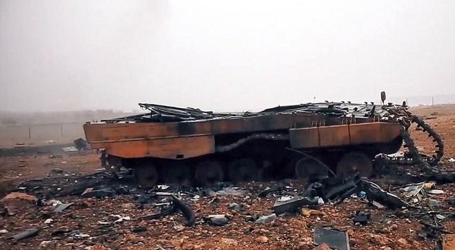 """Leopard 2 - tăng """"bất khả chiến bại"""" đã gục ngã trên chiến trường Syria - Ảnh 2."""