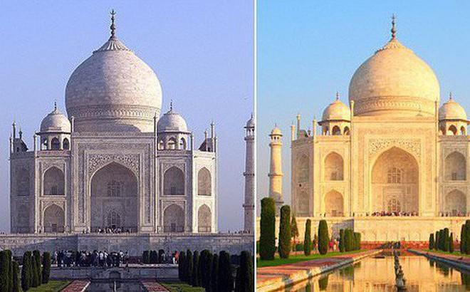 Lăng Taj Mahal biểu tượng của Ấn Độ đã chuyển thành màu vàng vì một lý do cực kỳ đáng ngại