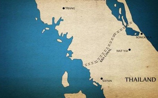 Thái Lan đang xem xét dự án Kênh đào Kra