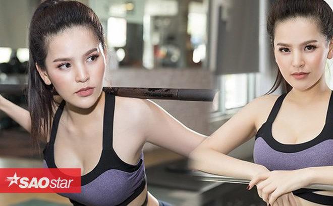 """'Đốt mắt' với bộ ảnh phòng gym nóng bỏng của 'Thánh nữ Mì Gõ"""" Trang Phi"""