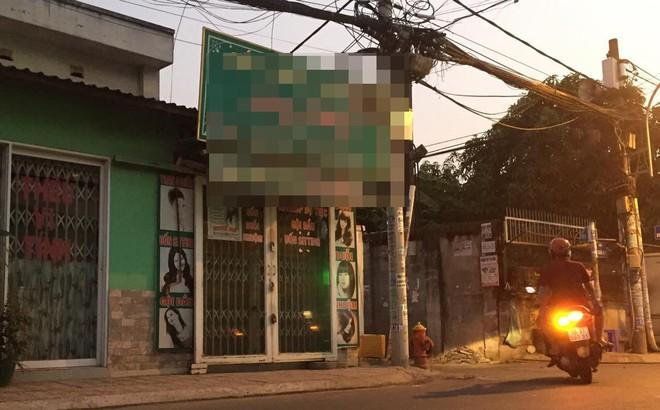 Nối lại tình cảm không thành, người đàn ông tự sát tại tiệm hớt tóc ở Sài Gòn