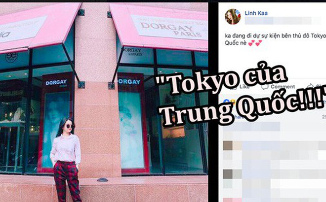Nhờ Linh Ka, chúng ta biết được Tokyo là ở Trung Quốc