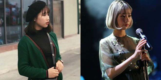 Nhiều người giật mình khi so sánh ảnh của 9x Bắc Ninh với nữ ca sĩ Min - Ảnh 1.