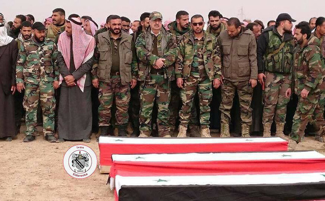 Hàng chục lính đánh thuê Nga thiệt mạng vì Mỹ không kích ở Deir Ezzor