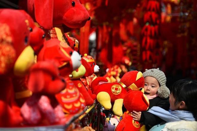 Châu Á ngập tràn sắc đỏ cùng linh vật chú chó chào Tết Nguyên Đán - ảnh 15