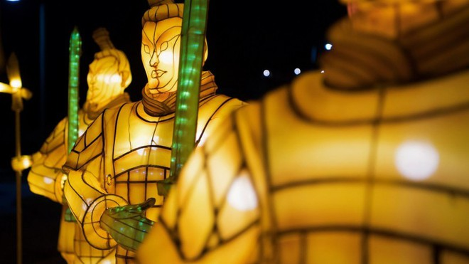 Lung linh lễ hội đèn lồng mừng Tết Mậu Tuất từ LasVegas - ảnh 3
