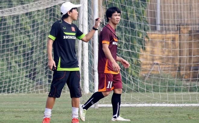 HLV Miura cùng dàn sao U23 Việt Nam làm