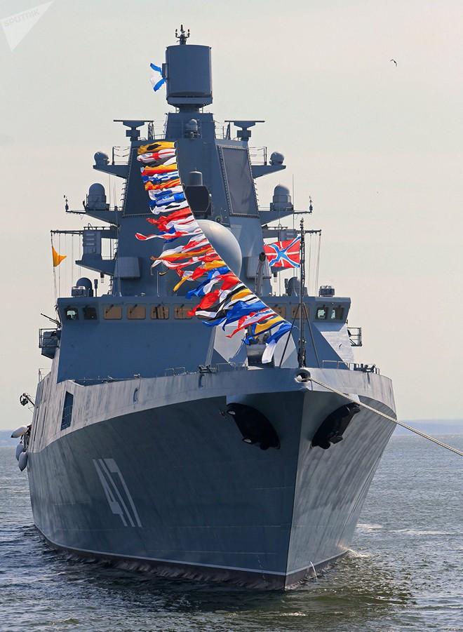 Siêu khinh hạm Đô đốc Gorshkov: Trụ cột giúp Hải quân Nga khuếch trương sức mạnh - Ảnh 1.