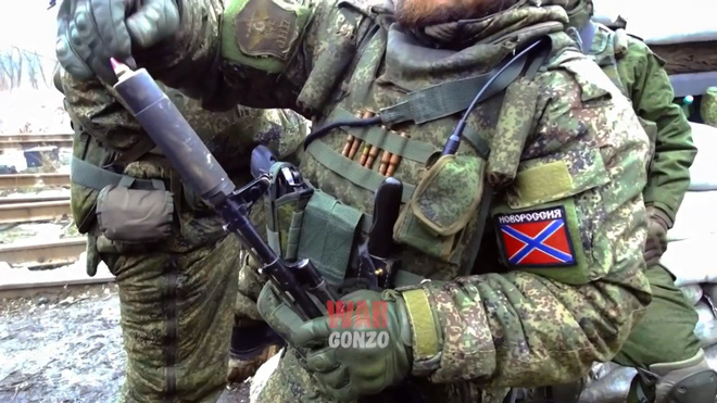 Độ chế để bắn đạn phòng không 23 mm từ súng trường tấn công AK-74 - Ảnh 1.