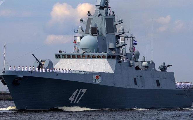 Siêu khinh hạm Đô đốc Gorshkov: Trụ cột giúp Hải quân Nga khuếch trương sức mạnh
