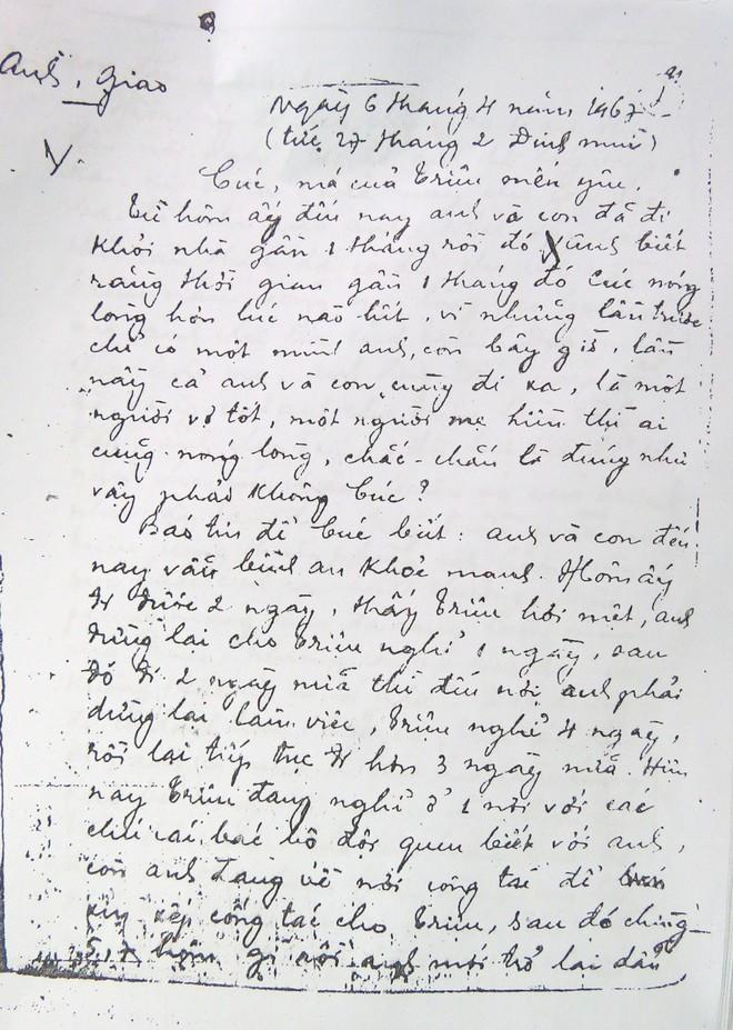 Vị đại tá và bức thư gửi vợ lưu lạc sang Mỹ - Ảnh 1.