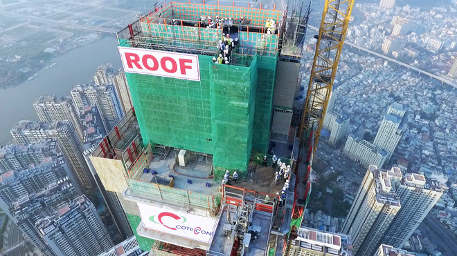 Toàn cảnh tòa tháp 81 tầng cao nhất Việt Nam của tỷ phú Phạm Nhật Vượng - Ảnh 6.