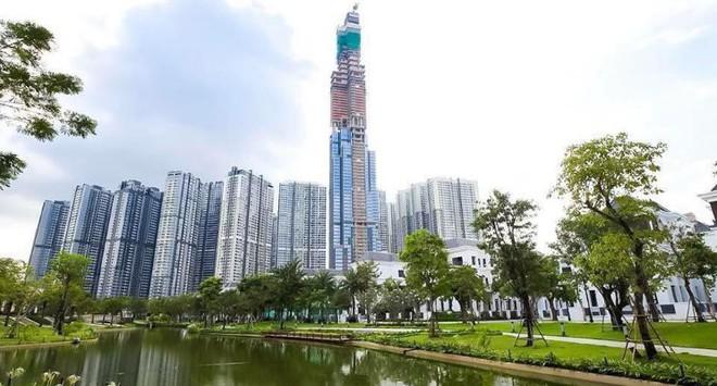 Toàn cảnh tòa tháp 81 tầng cao nhất Việt Nam của tỷ phú Phạm Nhật Vượng - Ảnh 1.
