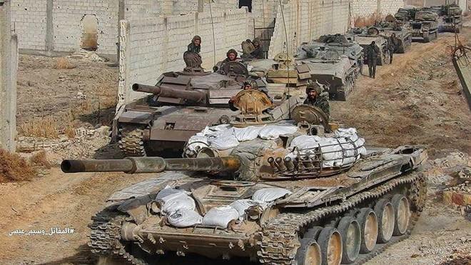 Nga-Syria mừng tuổi phiến quân bằng tất cả các loại hỏa lực ở đông Damascus: Chưa từng có - Ảnh 2.