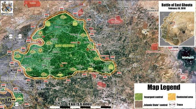 Nga-Syria mừng tuổi phiến quân bằng tất cả các loại hỏa lực ở đông Damascus: Chưa từng có - Ảnh 10.