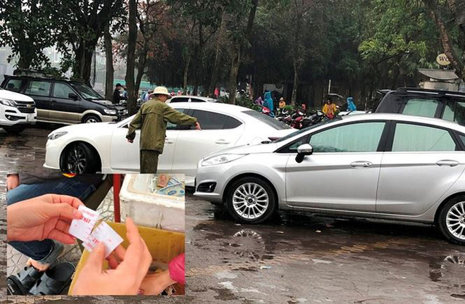 Kiểm tra đột xuất, phát hiện nhiều bãi trông xe chặt chém ở Hà Nội - Ảnh 6.
