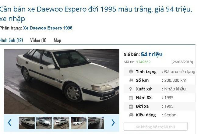 Những chiếc ô tô cũ chính hãng này đang bán giá chỉ 50 triệu đồng tại chợ Việt - Ảnh 1.