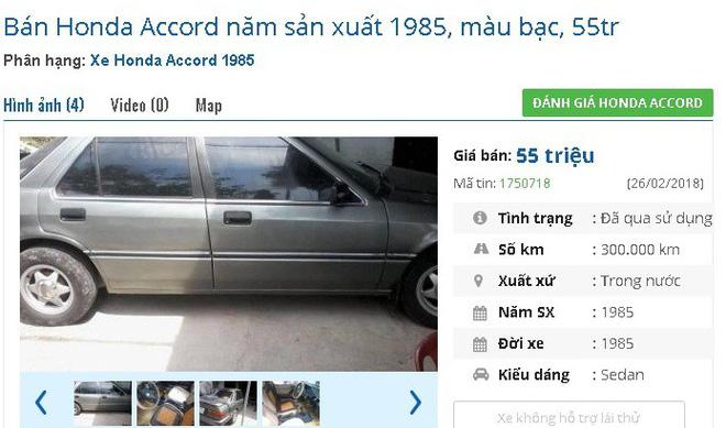 Những chiếc ô tô cũ chính hãng này đang bán giá chỉ 50 triệu đồng tại chợ Việt - Ảnh 3.