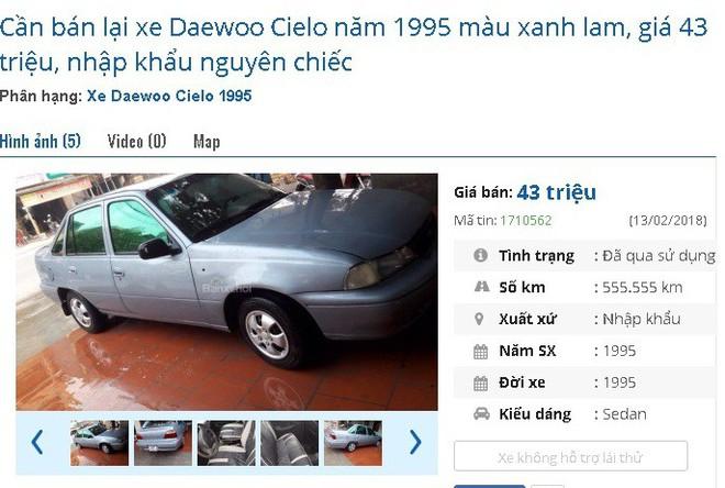 Những chiếc ô tô cũ chính hãng này đang bán giá chỉ 50 triệu đồng tại chợ Việt - Ảnh 4.