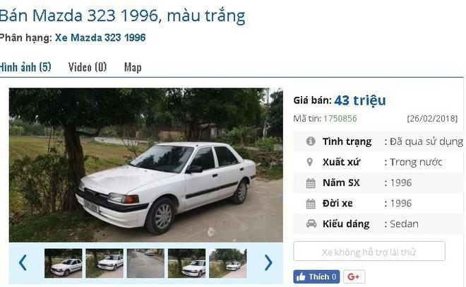 Những chiếc ô tô cũ chính hãng này đang bán giá chỉ 50 triệu đồng tại chợ Việt - Ảnh 5.