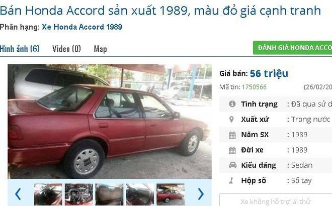 Những chiếc ô tô cũ chính hãng này đang bán giá chỉ 50 triệu đồng tại chợ Việt